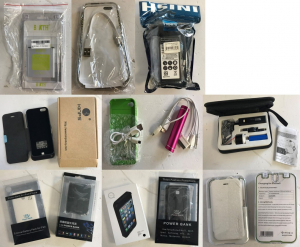 One Off Joblot of 31 Mobile Phone Charging Cases, Power Banks & Battery Items