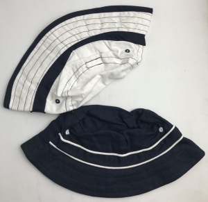 Wholesale Joblot of 20 Sets of Childrens Bucket Hats (2 in Each Pack)