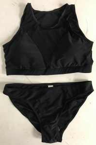 Wholesale Joblot of 10 Womens Black Mesh Bikini Sets Sizes S-L