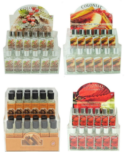 Wholesale Joblot of 108 Colony Christmas Refresher Oils 5 Scents Included