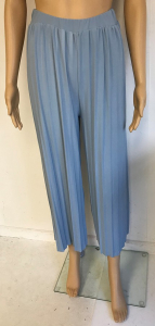 One Off Joblot of 6 Yuki Tokyo Donna Pleated Trouser in Baby Blue Size 8-12