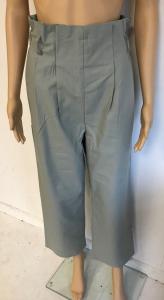 One Off Joblot of 5 Yuki Tokyo Faint Green High Waisted Trousers Size 8-12