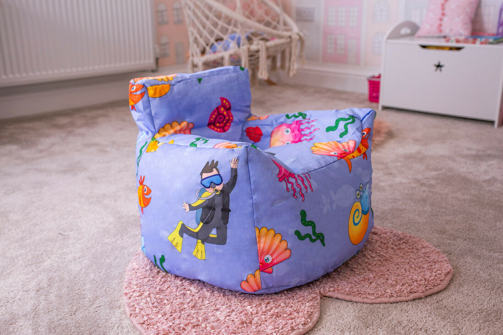 KIDS Joblot Childrens Bean Bag Chair Cover Kids Beanbag Bedroom Soft Toy X 6