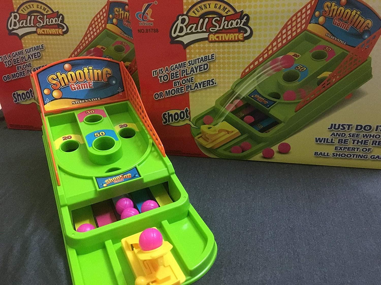 Childrens Tabletop Mini Basketball Shooting Game Kids Desktop Target toys x 12 bb175