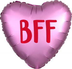 Wholesale Joblot of 50 Amscan Anagram BFF Heart-Shaped Balloon 18