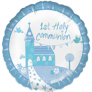 Wholesale Joblot of 50 Amscan Anagram 1st Holy Communion Foil Balloon 17