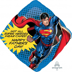 Wholesale Joblot of 20 Amscan DC Superman Happy Father's Day Foil Balloon 29