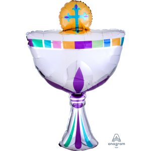 Wholesale Joblot of 30 Amscan First Holy Communion Cup Foil Balloon 20