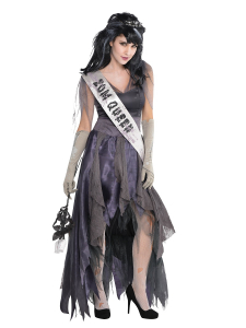 Wholesale Joblot of 8 Amscan Corpse Zombie Queen Costume Adults