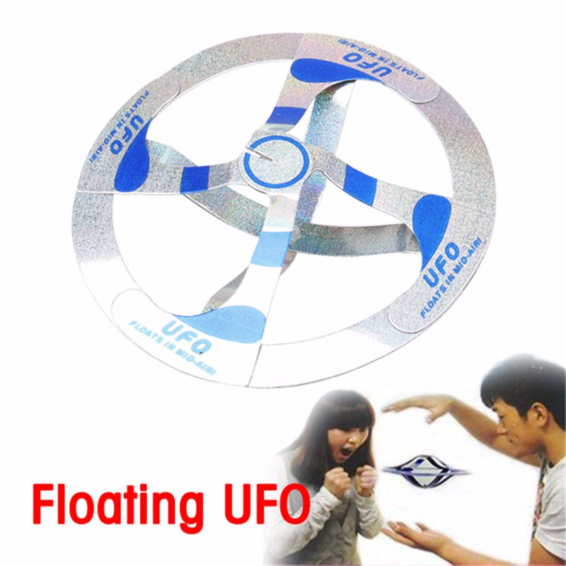 Mystery UFO Floating Flying Saucer Magic Trick, Party Bag or Stocking Filler