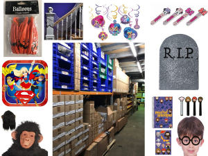 Truck Load of Amscan Party Stock - 29,853 Pcs in Total - £160,000 Retail Value
