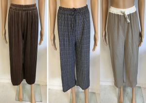 Wholesale Joblot of 5 Yuki Tokyo Ladies Lounge Trousers - Assorted Styles