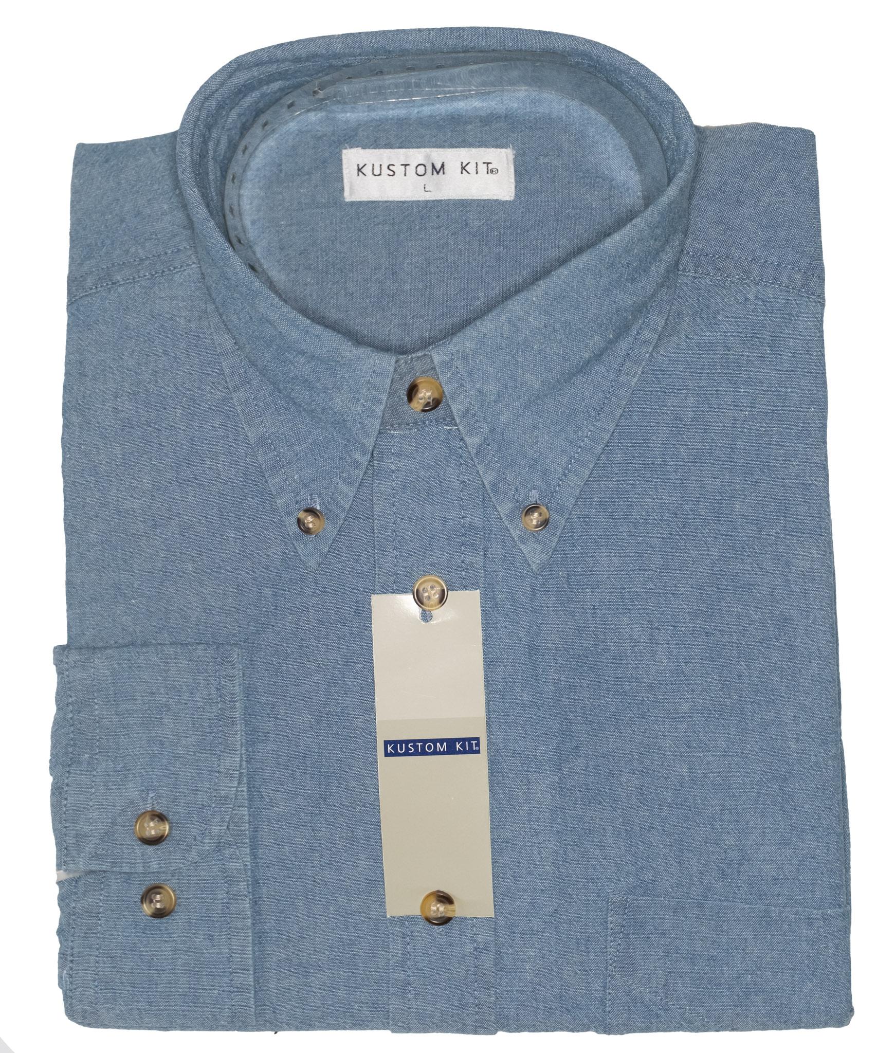 Mens Denim Shirt | Assorted Wholesale Joblot S, M, L