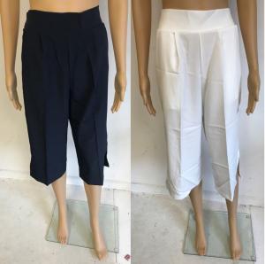 Wholesale Joblot of 11 Yuki Tokyo Mia Pants White & Navy Size 8-12