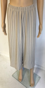Wholesale Joblot of 5 Yuki Tokyo Eva Stripe Trousers in Sand Size 8-12