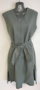 One Off Joblot of 8 Yuki Tokyo Louise Belted Dress in Green Size 8-12