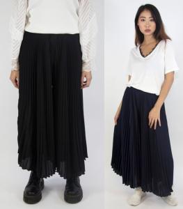 Wholesale Joblot of 5 Yuki Tokyo Ladies Wide Pleated Pants in 4 Colours