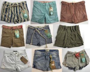 One Off Joblot of 12 Scotch R'Belle & Shrunk Shorts Majority Girls - Assorted
