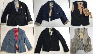 One Off Joblot of 11 Scotch Shrunk Boys Jackets & Waistcoats Various Designs