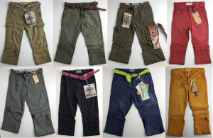 Wholesale Joblot of 10 Scotch Shrunk Boys Trousers Assorted Styles 6-9 Years