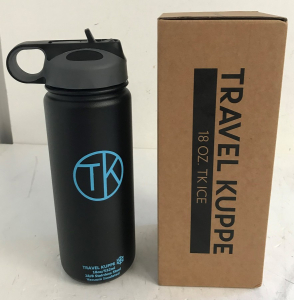 Wholesale Joblot of 10 TK Travel Kuppe 18oz Ice Sports Water Bottle With Straw