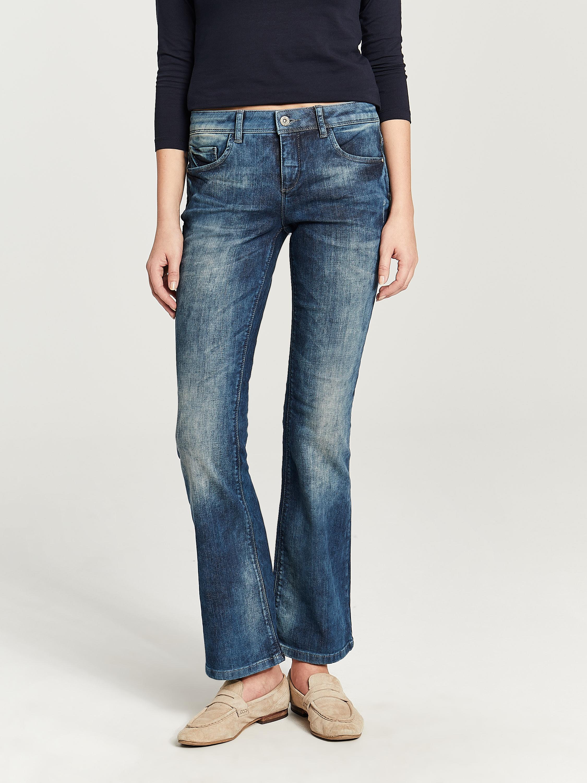Job Lot 20 Zabaione Flared Distressed Bootcut Jeans