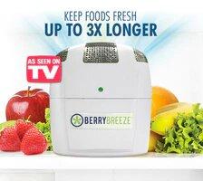 Fridge Fresh by Berry Breeze, Fridge deodriser and Food Life Extender, certified organic
