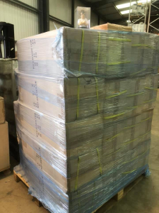 Pallet of 1500 novelty Kitchen timers in style of angry chef!
