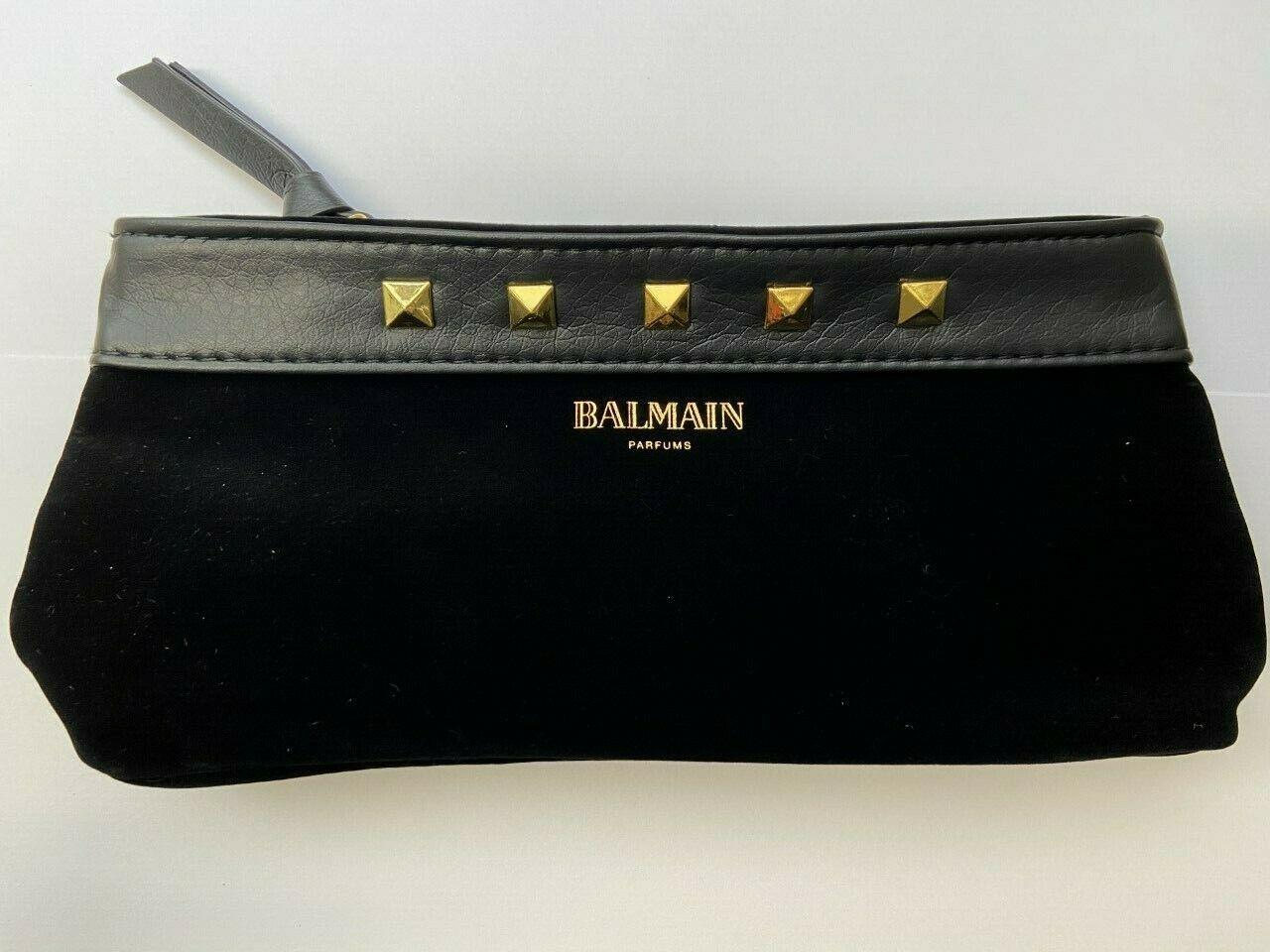 10 x Pierre Balmain Makeup Bag Vintage Style Designer Mini Clutch Pouch