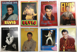 Wholesale Joblot of 200 Elvisly Yours Elvis Presley Official Calendars - Various
