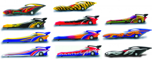 Pallet of 1584 Racing X Pen - The Pen That Races! - 15 Designs Included