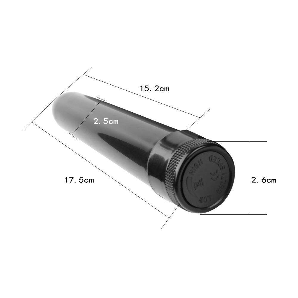 10 x Fiftyshadesofpassion7 Inch Bullet Vibrator Black  UK SELLER GCAP063