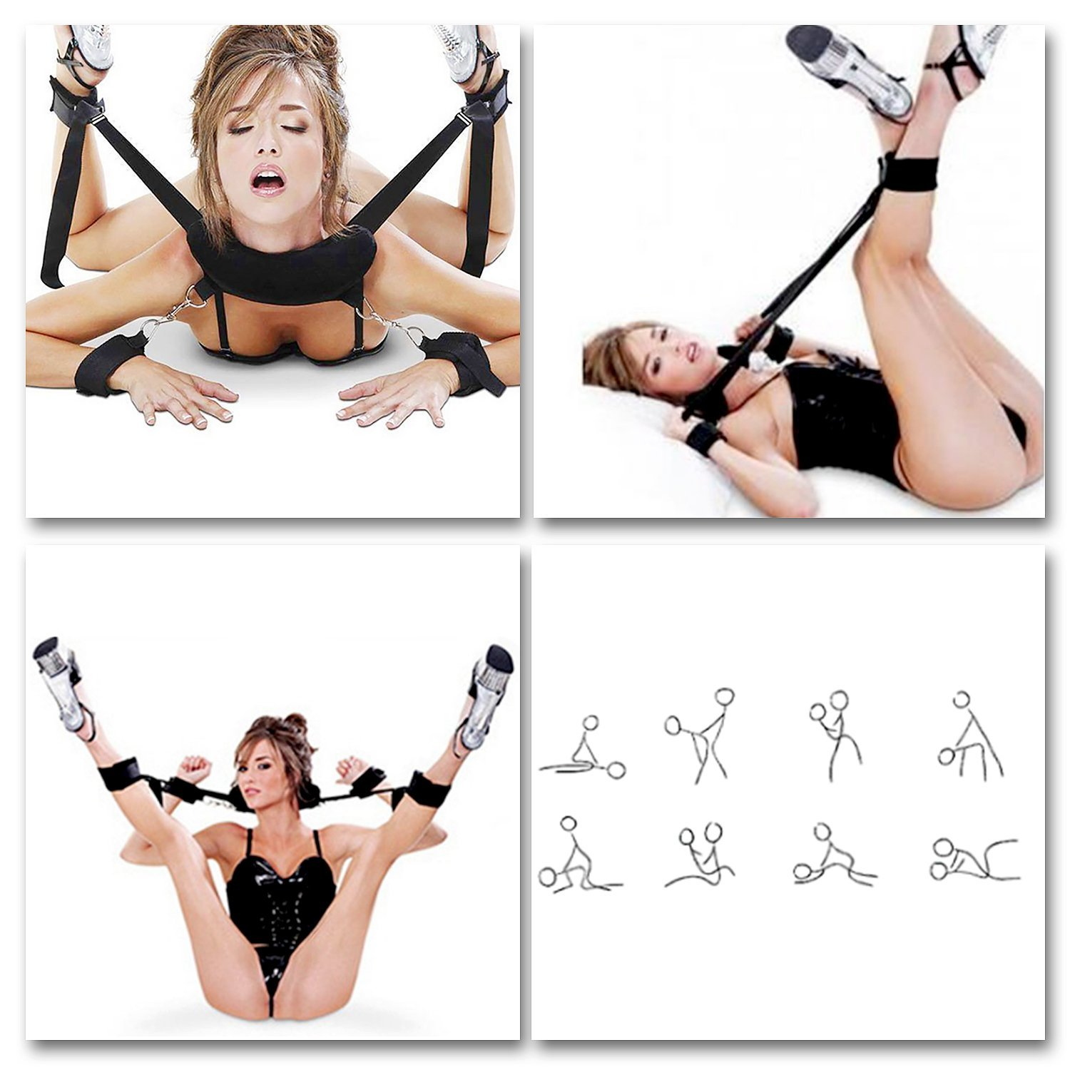 10 Sexual Position Master With Cuffs  UK SELLER GCSM003