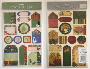 One Off Joblot of 624 Kleeneze Deluxe Double Sided Gift Tags (Pack of 28)