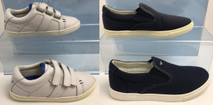 One Off Joblot of 7 Hugo Boss & Armani Kids Shoes in 2 Styles - Discoloured