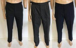 Wholesale Joblot of 50 Mens Suit/Dress Trousers Mixed Styles - Ex Hire