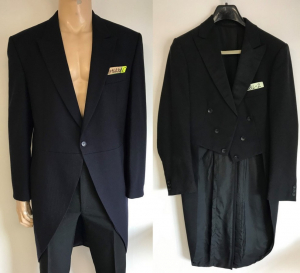 One Off Joblot of 11 Mens Suit Jackets in 3 Styles - Black & Navy