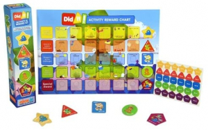 One Off Joblot of 38 NickJr Did it! Activity & Reward Chart with Stickers/Badges