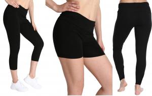 One Off Joblot of 30 Blis Black Yoga/Fitness Leggings & Shorts 3 Styles