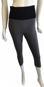 One Off Joblot of 15 Blis Ladies Grey/Black Yoga Capri Legging Sizes S-XL