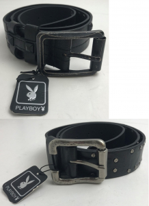 Wholesale Joblot of 20 Playboy Mens Belts - Assorted Styles Included