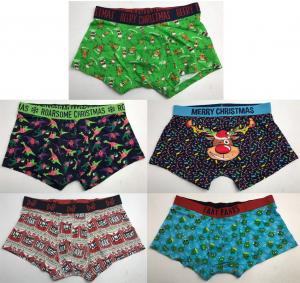 Wholesale Joblot of 30 Ex-Chain Store Mens Boxer Shorts - Majority Christmas