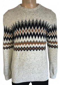 Wholesale Joblot of 20 Ex-Chain Store Mens Diamond Patterned Winter Jumpers