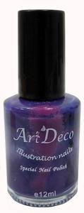 Joblot of 32 Purple Art Deco 'Illustration Nails' Nail Varnish