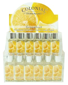 Joblot of 24 Colonial Grapefruit Scented Refresher Oils