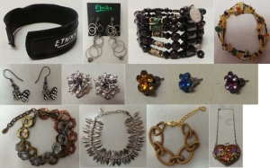 Mixed Parcel of 50 Pieces Branded Etnika Jewellery stock.