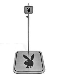 Playboy Point of Sale Single Point Display Stand Branded