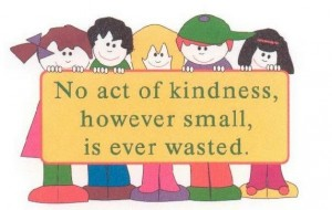 Kindness - not just for Christmas