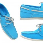 Mediterranean coloured boat shoes