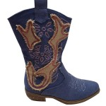 Girl's cowboy boot